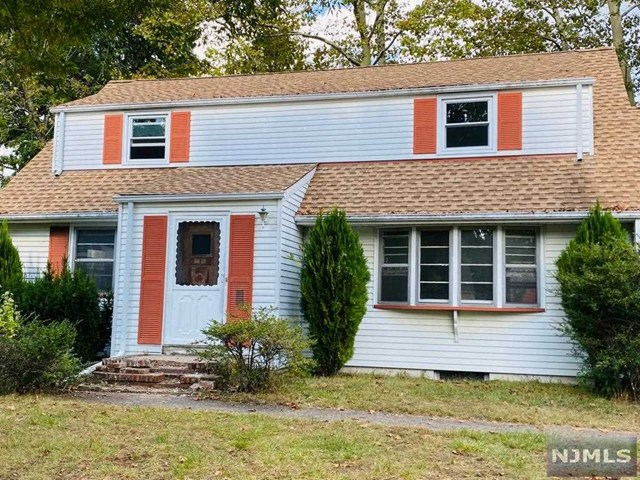 Calling all investors and DIY homeowners! This is a wonderful 1658 Sq ft cape-cod in a fantastic family friendly neighborhood in fair lawn. First floor features a spacious living room, formal Dining room, eat in kitchen, 2 bedrooms, and a full bathroom. The second has a full bathroom and two additional large bedrooms. Lots of natural sunlight. The 7500 Sq ft property property is fenced in, and it has a one car garage.