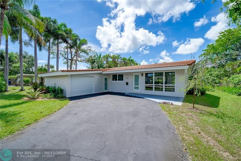 Here is your Florida Dream Home!! This Remodeled Ocean Access Waterfront 3/2 in Wilton Manors will Wow you. Its on a Mature Quiet street, with a Tropical Water Views just a stones throw from the Drive. You'll enjoy the large yard 119 ft deep with plenty of room for a pool. European Open Kitchen, High end Quartz counters, Brand New Samsung Black Appliances, and Custom Cabinets. Upgraded Electrical Panel, New Tank less Hot water Heater. Beautiful light coming at you from all directions from your New High Impact Windows and doors. En Suite Master bedroom has Impact Sliders out to the covered private patio with Tranquil water and garden views. Less than 5 miles to the Ocean. Conveniently Located to shopping, Coffee, Groceries and Highways.