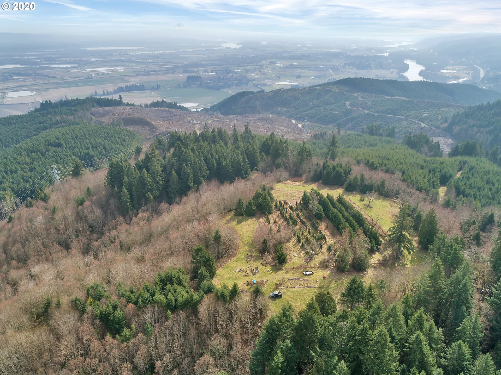 Imagine the relaxation, peace of mind & joy of playing on this rural 30 forested acres just 30 minutes from downtown Portland. No buildings/home permitted here at this time but possible permitted uses include: private forest, recreational facility/park, forest products production, nursery, private hunting reserve, farm uses including food production, livestock or horses & soil, air water quality, fish and wildlife conservation. See/request Multnomah Cnty CFU zoning  code-Buyer to verify all info