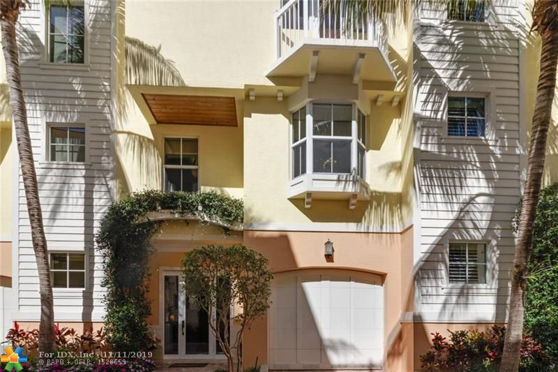 Watch the sun rise or set from the  rooftop patio of this gorgeous luxury three story town house 2 blocks from the sandy beaches of Lauderdale by the Sea. Restaurants bars and shops just steps away. strolls on the beach followed by dinner. 1884 sqft under air of beautifully furnished living space. 3 Bedrooms and three and a half baths. Upgrades include impact windows, Marble kitchen, marble floors in main living and kitchen. Wood floors on 3 floor. 10ft ceilings with detailed crown molding. 3 balconies and a 500sqft roof top terrace with direct views of the beautiful atlantic ocean. Perfect vacation, investment, or forever home. The Home can be offered furnished.