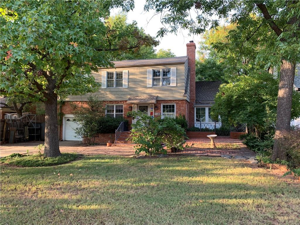 """Great location on the 1100 Block in Nichols Hills!  Home to be sold """"as-is""""  Could be a remodel or a tear down.  Lot is 60' x 165'"""