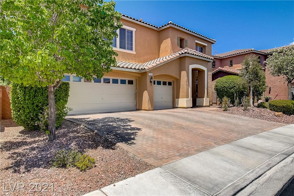 Welcome Home! This spectacular home that's located in the Aliante master planned community is centrally located to many parks, shopping and restaurants and has exceptional access to both the I-15 ,95 and 215 freeways.This home is a must see! It is super spacious, airy and bright.Nearly 3400 sqft of living space it has 5 bedrooms and 4 full bathrooms including a master bedroom down and another upstairs.The secondary bedrooms are over sized as well. Situated on an extra large 7405 sqft lot with no rear neighbors it has a temendous backyard which includes over sized covered patio and extended balcony to enjoy with family and friends.This home comes highly uprgraded with superior finishes through out including,chefs kitchen with granite countertops, island, breakfast bar, double ovens,hard surface flooring and designer paint scheme.Too much to mention Please see this one TODAY !