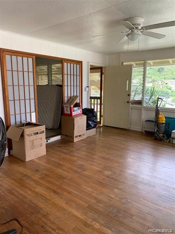 Rental month to month is acceptable. Renovating house so can rent reasonable at this price. No Pet. No Smoking. Available October 1, 2021. Aina Haina community with fabulous ocean view. Steps to property with Large yard.  Front house $2,250. (Also, Studio in back available to rent $900). or both at $3100/mo.