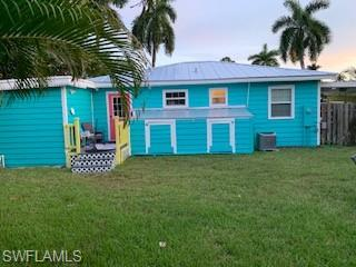 Adorable Key West Cottage in the heart of Naples, Fully Furnished Available from June 1, 2021---December 15,2021.. Brand New Roof & Exterior Paint...Newly Landscaped back yard.Beautiful Neighborhood 1 Mile to the Beach.. Biking distance to Downtown Naples, 5th & 3rd Avenue South. The home has been completely renovated with the finest finishing's & darling decor. Finishing's include: Wood Tile Throughout the main living space, Brand New Shaker White Cabinets with Quartzite Counters, Brand new Stainless Appliances: LG & GE... New Beverage/ Wine Center. Cozy floor plan with Large Master Suite, & expansive Walk in Closet, The other 2 guest Suites are on the opposite side of the Home that will share the other guest bath. One Bedroom has twin single beds & the other A queen set.. The Property is Very Private, Lushly Landscaped, Well maintained with fenced in Spacious Back Yard. Pets welcome with approval... There is a Dog Door Installed.