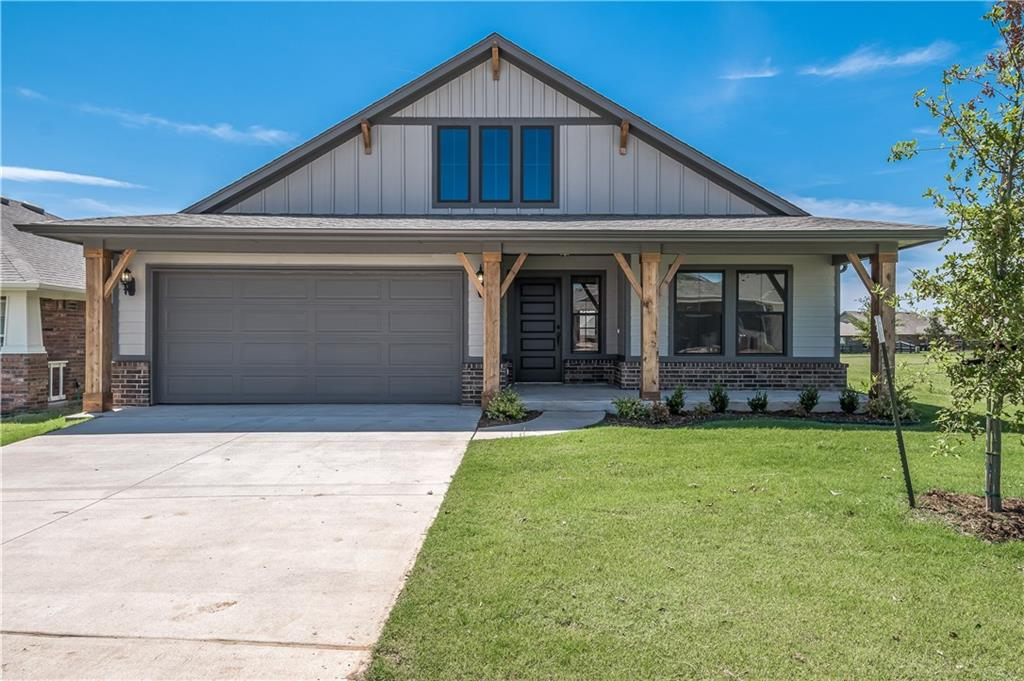 This brand new four-bedroom home offers an open living and dining plan with a study, an indoor utility/mudroom, and an outdoor covered patio for those nice days! Easy start gas fireplace in the living area for those chilly days! The kitchen features stainless steel appliances including a gas cook range and microwave, quartz countertops, tile backsplash, and breakfast bar! The home boasts an energy-efficient HERS score of 60, guaranteeing you low heating and cooling costs all year long. Full fencing and landscaping included. Scheduled for completion in July 2020!