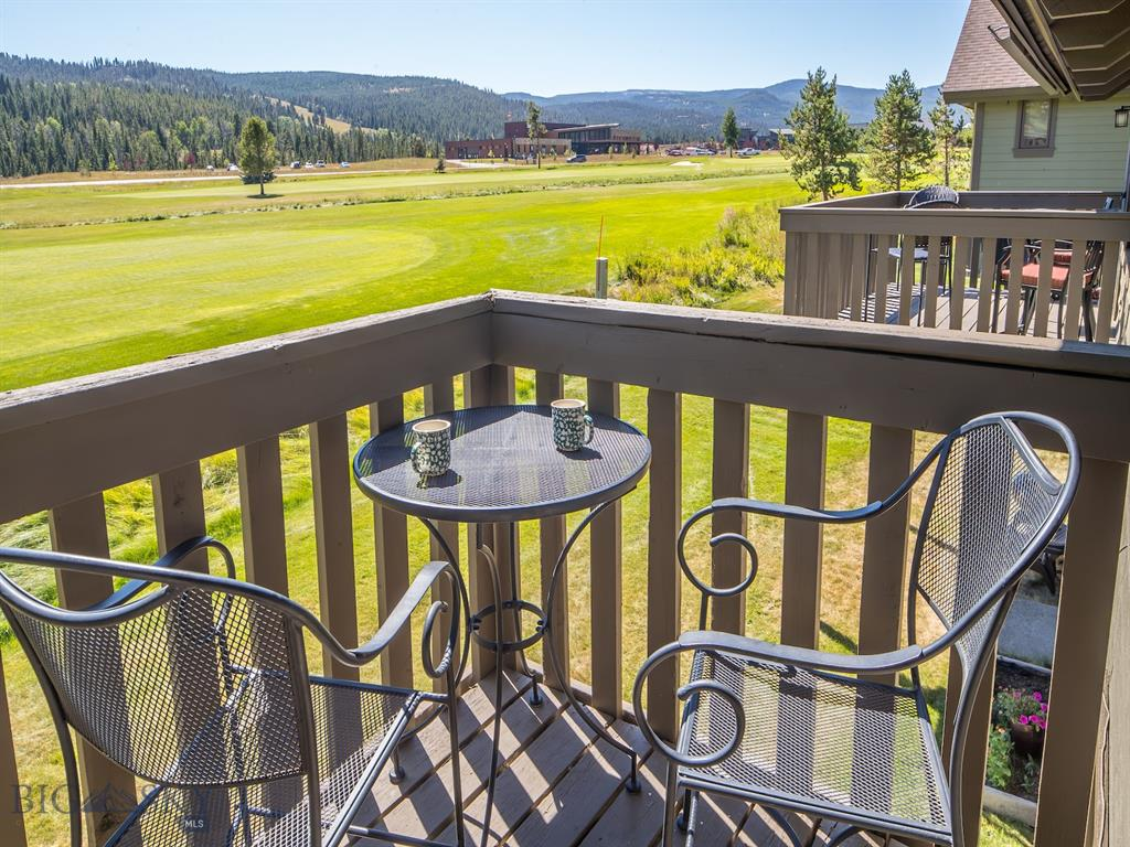 Affordable vacation ownership! This is your opportunity to own 50% of this south facing 2BR/3BA condo overlooking the golf course. XC ski out your back door. Two fractional owners have teamed up to offer their back-to-back weeks, providing a rare opportunity. Granite counters and tile floor in the kitchen. Queen bed in one bedroom and a double plus a twin in the other bedroom. Two full baths with bedrooms on the lower level and a convenient full bath on the main level. Total expenses last year for the 50% were $5,011, including dues, taxes, utilities, insurance, TV, phone and misc. repairs. Amenities include indoor pool.