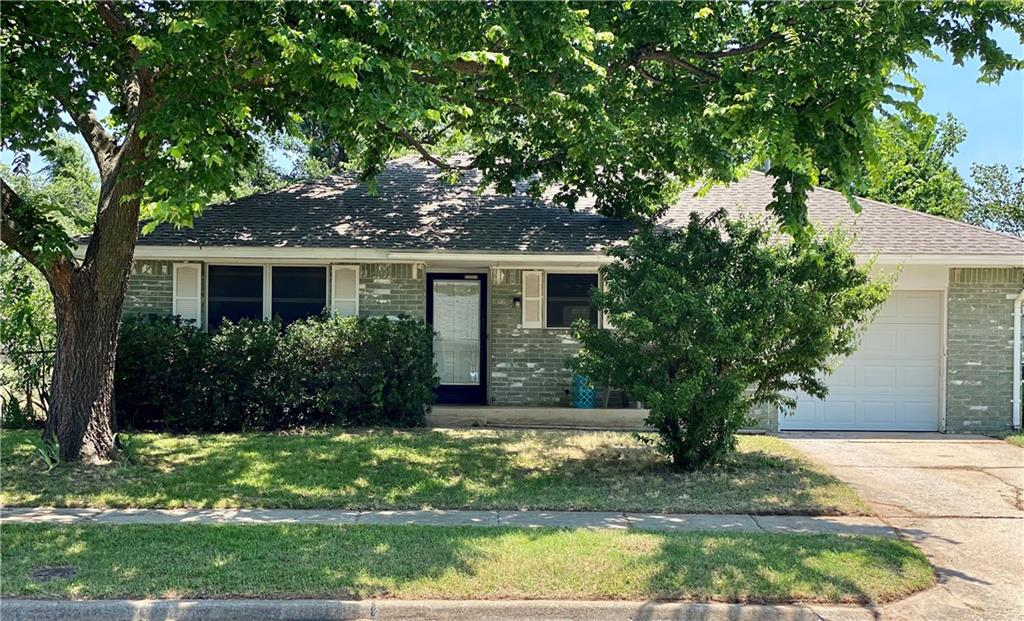 This cute brick home has a single car tandem garage!  The HVAC was replaced in 2019. The tile & laminate wood flooring in 2017, all kitchen appliances in 2017. Backyard opens to a field so its very spacious & private with fruit trees in yard.   The washer, dryer are negotiable in garage they are 4 years old. Home will be sold as is condition. New roof was installed this month  All offers are due by 8/6/2021 by 5:00 pm Seller reserves the right to except any offer before deadline.