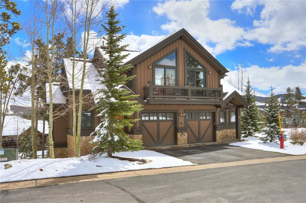 Take a look at this amazing ski in/ski out 3-bedroom plus den, 3.5 bathroom Saddlewood Townhome! This well appointed end unit has a spacious floor plan with 2 ensuite bedrooms and 2 sets of bunk beds in the lower level. New hot tub off the lower level with views of Baldy Mountain and new Viking appliances. Easy to ski in/out from the property to the Snowflake Lift and only a short walk to Main Street Breckenridge for all your dining and shopping needs. Steps from biking, hiking and the bus stop.