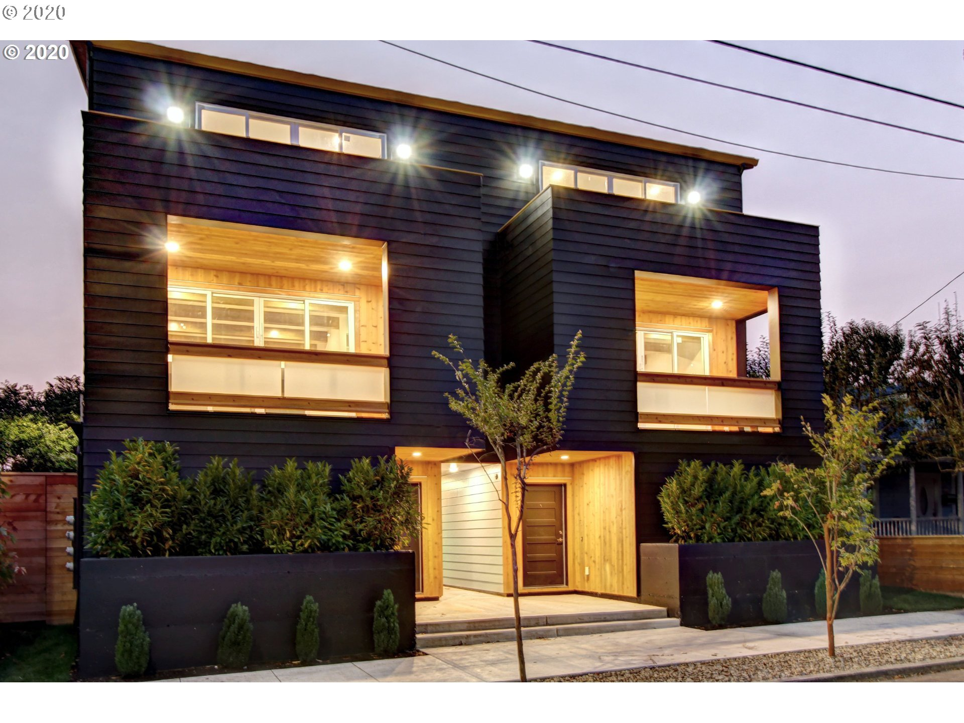 Stunning architecture kitty-corner from New Seasons with a walk score of 95. Tall ceilings, multiple living rooms, decks on all 3 levels, bedrooms that all fit king beds & dressers. This labor of love by the designer abounds in detail like smooth-wall, custom closets, bedroom-level laundry & EV charging. Every room was designed for furnishing with no wasted space. The ground level and location are equally perfect for work, family, or recreation. This spectacular design truly has the x-factor.