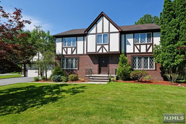 Large Tudor Center Hall Colonial on terrific street in desirable Harrington Park. 4 BRs including large master suite w/large master bthrm & walk in closet. Large kitchen w/lots of cabinets and granite counters. Relaxing family rm w/fireplace. Large, open finished basement perfect for Rec Rm/Play Rm or more. Then you have the fabulous backyard! Huge property with extra large 2-level deck, ready for your outdoor summer memories for years to come! Add the Central AC, 200 amp electric, new furnace 2016,2 car garage w/electric openers, & attractive Tudor Curb appeal, all on a prime street, and you have a great place to call your new home!