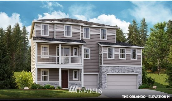 New construction at Forest Glen!The lower floor of the Oscar plan features a 3car garage,private study and abundant storage space. The main floor is perfect for gatherings, with a great room, a gourmet kitchen and a morning room overlooking the covered patio with front balcony. There's also a convenient bed & full bath on main floor. Highlights of the upper floor include a loft, which can be optioned as an extra bedroom, and a sophisticated master suite with huge walk in closet & much more!