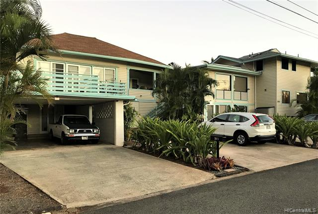 TWO HOMES!!  TIP-TOP CONDITION!  PRIDE OF OWNERSHIP! Two-minute walk to UH!  Quiet Street, no thru traffic! 2 Separate addresses, utilities, PV systems. TOTAL of 5 UNITS!! 3 Bed/2Bath, 2 Bed/2Bath, 1 Bed/1Bath, and two Studios. Over 476sf in porch & 2 decks. 722sf in unfinished basement storage. 7 car parking, up to 10 if in tandem. EVERYTHING INCLUDED IN SALE, furniture, applicances, machinery, tools. 48 PV panels = Average electric bill is only $26/m! 7 security cameras installed last month. Excellent rental Income! OWNER FINANCING is available, 30% down, 15-year terms.  2 split ACs and 4 window ACs.