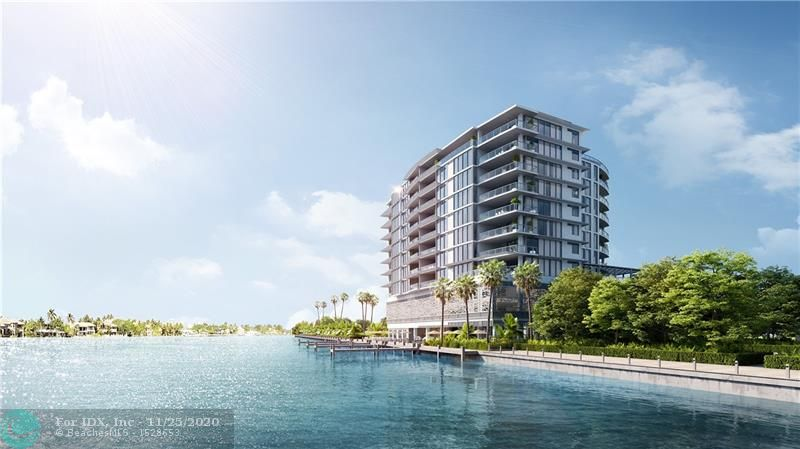 ADAGIO Fort Lauderdale Beach offers exclusivity and serenity. Breathtaking views of the Intracoastal Waterway and just a short walk away from the white sandy beach. 31 residences deliver an elegant boutique lifestyle at Fort Lauderdale's North Beach Village. Flow through design with Gaggenau appliances including a GAS cook-top, deep terraces with a Summer Kitchen, high ceilings, 2 car parking, private elevator entry, Intracoastal sunset pool with cabanas, rooftop pool, fitness center, private climate controlled storage units, and private marina with docks available. The listed unit will be delivered decorator ready.