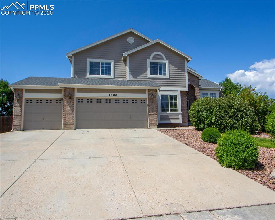 This beautiful 6-bed home has Amazing mountain views and a large park like corner lot that backs to open Space. Upstairs is a Large master bedroom with an attached 5-piece bath, a secondary master bedroom with a full bath, and two guest rooms with a Jack and Jill full bath! The main level has an open plan that flows from the family through the dining area and into the kitchen. Completing the main level is an office, a separate dining room, and a separate living room. The basement is the icing on the cake with all it offers