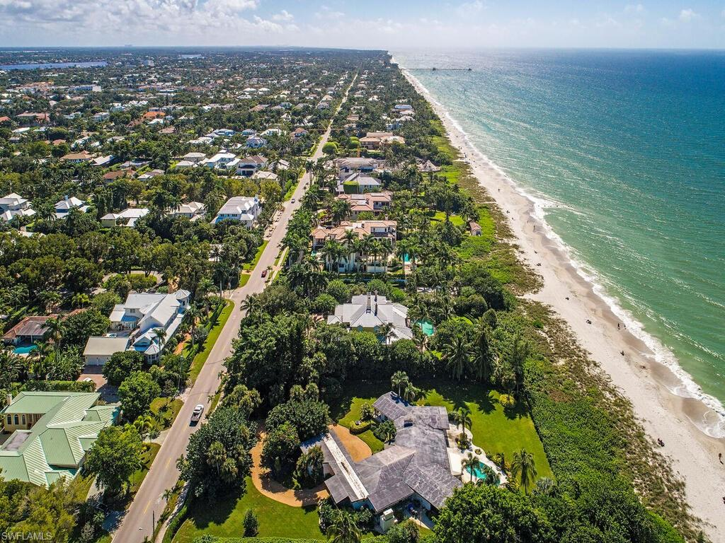 "Like no other. This is a once-in-a-lifetime opportunity to build the home of your dreams on one of the most desirable residential building sites on Florida's Gulf Coast.  Behind the seagrass and sea grape windbreak that borders its western edge, this 1.61-acre lot with 189 feet of frontage on the Gulf of Mexico and a depth of approximately 367 feet can be the setting for a custom estate home of any style. Mirror the designs of the world-class estates that line the Naples beaches or take your inspiration from the original cottage built on this lot in 1956 - still home to only its third owner since that time. In whatever way you choose to create your paradise, you will always delight in panoramic views and splendid sunsets. Walk to the anticipated Naples Beach Club which will offer some of the most luxe amenities and services in the world.  Walk to the popular dining and shopping venues on 5th Avenue South and 3rd Street South in Old Naples. The property is offered in ""as is"" condition."