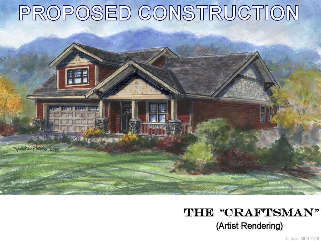 PROPOSED CONSTRUCTION - THE CRAFTSMAN 1.  Enjoy the security of a gated community in your new Arts & Crafts style home near the Champion Hills Golf Course in Hendersonville.  This energy-efficient home features low-maintenance exterior finishes and even includes yard work to ensure your time is spent enjoying a carefree life.  A large great room with vaulted ceilings and a cozy gas fireplace greets you as you enter through a spacious foyer.  Immediately adjacent lies a dining area and a large kitchen with granite counters and a breakfast bar.  A master suite and two guest bedrooms complete the ensemble.  You can even select your interior finishes from a wide variety of offerings!  And outdoor living?  A large deck, perfect for relaxing, awaits you out your back door.  Only 8 minutes from town.  See this one today!