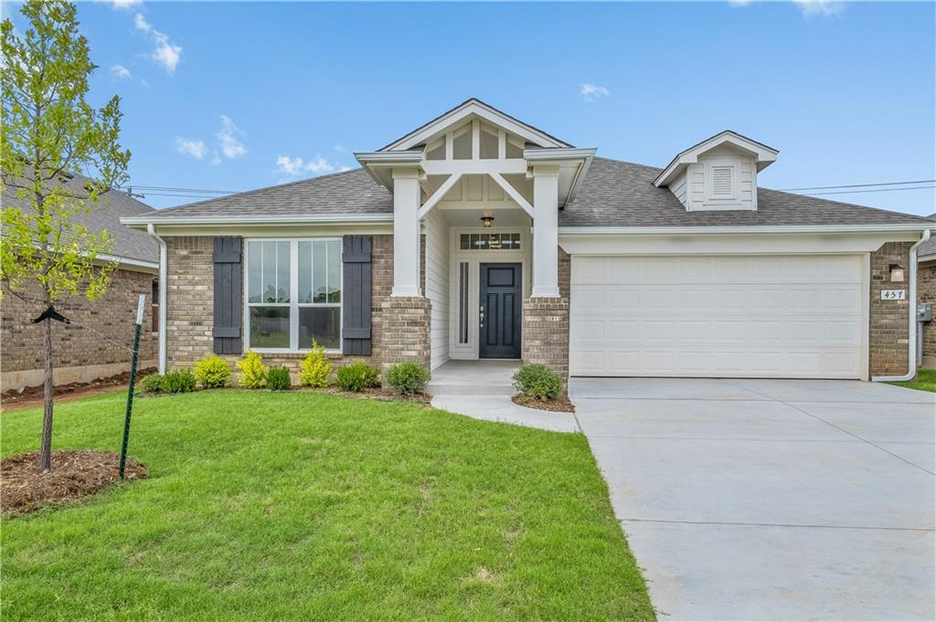 This brand new 4 bedroom home offers an open kitchen/living/dining layout with an indoor utility room. The kitchen features stainless steel appliances with a gas cook range, microwave, quartz countertops, tile backsplash, and a wide breakfast bar. You'll also enjoy the outdoor covered patio on those perfect days! The home boasts an energy-efficient HERS score of 60, which guarantees you low energy costs all year round! Scheduled to be move-in ready in February 2020!