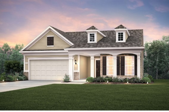 Amazing opportunity to own a brand new Abbeyville in the beautiful Southern Springs Del Webb active adult 55+ community.  Presale