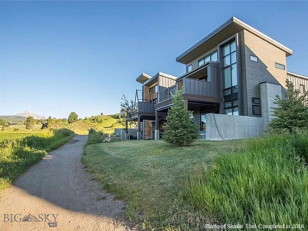 Updated floorplans for Building 3 which include additional bathroom and larger entryway. Hot tub included.  Nordic ski trail system via Lone Mountain Ranch out your door.