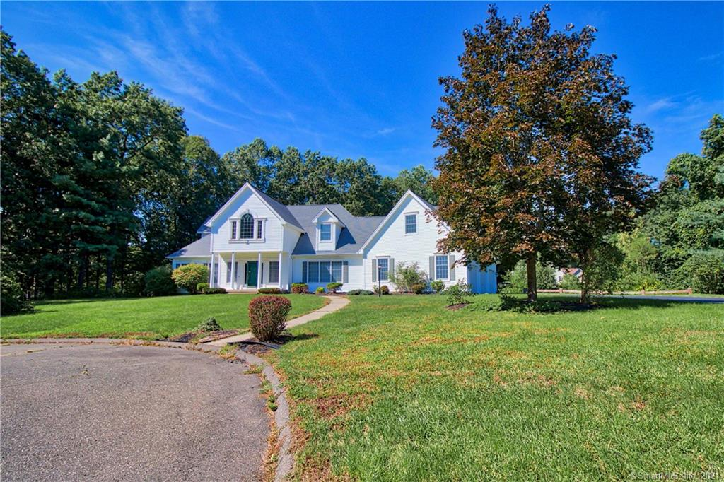 Who said 2 Primary Suites! We did! Welcome Home to this Majestic 4 BDRM/4.1 BATH over 5,600 sq. ft. Colonial/Cape on a very private cul-de-sac! Waiting for you is an open floor plan, HW flooring, a Chef's Dream Kitchen with a secondary DR straight off the Kitchen. Continuing on the Main Level is a sunken LR, Laundry Room, Full & Half Bath. Oh, and a Primary Suite w/HUGE walk-in closet. The Upper Level offers a Secondary Primary Suite, w/Full Bath, Dressing Room, both HW & W/W carpeting & Vaulted Ceilings. This stunning Cape/Colonial offers HW in all of the Main rooms. Brew a cup of coffee & sit on the surprise covered porch off the Laundry Room. Bonus Sewing/Craft/Studio at the top of the center staircase w/Skylight offering endless possibilities Easy Flow for entertaining w/bonus gas log FP. Have you ever wanted a Main FL Primary Suite w/a HUGE walk-in closet?? Look no further. This is the Multi-Generational Home w/over 5,000 square feet you've been waiting for! For the car enthusiasts, a 3 car garage awaits! Only minutes to I-84 for a quick & simple commute. Schedule your appt today!