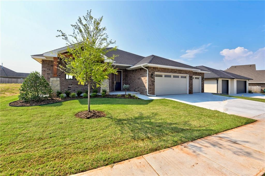 Come see what Lone Oak Farms has to offer!! Custom 3 Bed/ Flex Room/ 2.5 Bath/ 3 Car Garage/approx 2754sqft home! This transitional plan outlines a Kitchen with Custom Cabinets, Quartz Countertops, Open Shelving, Undercabinet LED lighting, and an OPEN CONCEPT w/ large center ISLAND! Hardware and Light fixtures meant to impress!! Dining area w/ Built-in Buffet! Extensive Hardwood flooring! Master with Sitting Area! AMAZING Master Closet open to Laundry... You have to see it! Quality Construction, Attention to Detail, Style, and Character! Radiant barrier roof deck to keep the attic cooled off!! Deer Creek schools!!