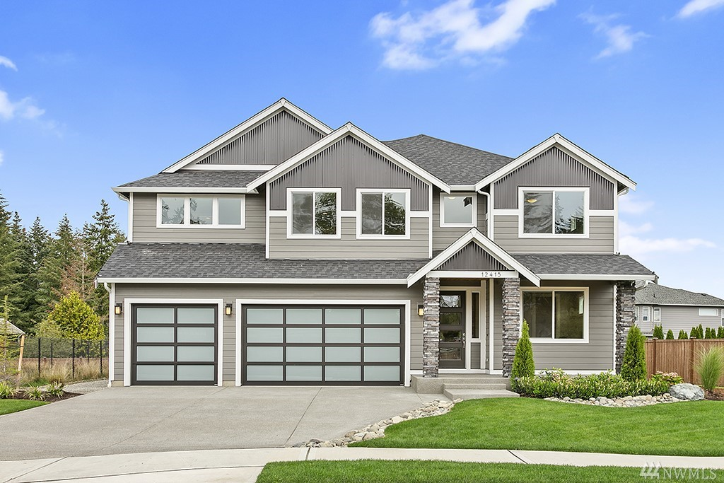 PRE-SALE opportunity! Puyallup schools & location close for commuting. Located in the cul-de-sac, enjoy open concept living w/ luxury finishes throughout. Kitchen features SS appliances, soft-close cabinets, quartz island & wide-plank flooring. Covered outdoor living w/gas fireplace & landscaped yard. Master suite, with spa-like bath & large walk-in closet. Fully fenced and landscaped yard. Estimated complete Winter 2020. Pick interior finishes! Photos are representative & may contain upgrades.