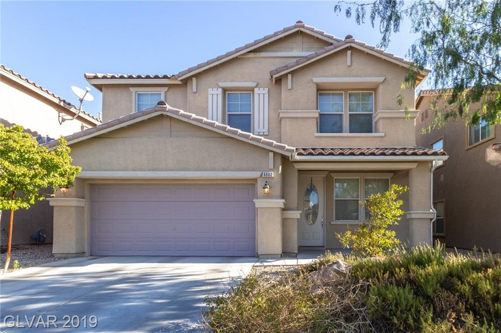 PRICED TO SELL IN BEAUTIFUL ALIANTE! In this desirable master planned community you will enjoy nearly 3000 sqft of living space, 4 bedrooms PLUS separate DEN down & a Spacious LOFT upstairs. Neutral colors throughout, Large living & dining room front entry, Open Concept Kitchen with Large Island complete with upgraded granite counters and tons of cabinet space. Covered patio & ceiling fan, LOW maintenance artificial turf in backyard.