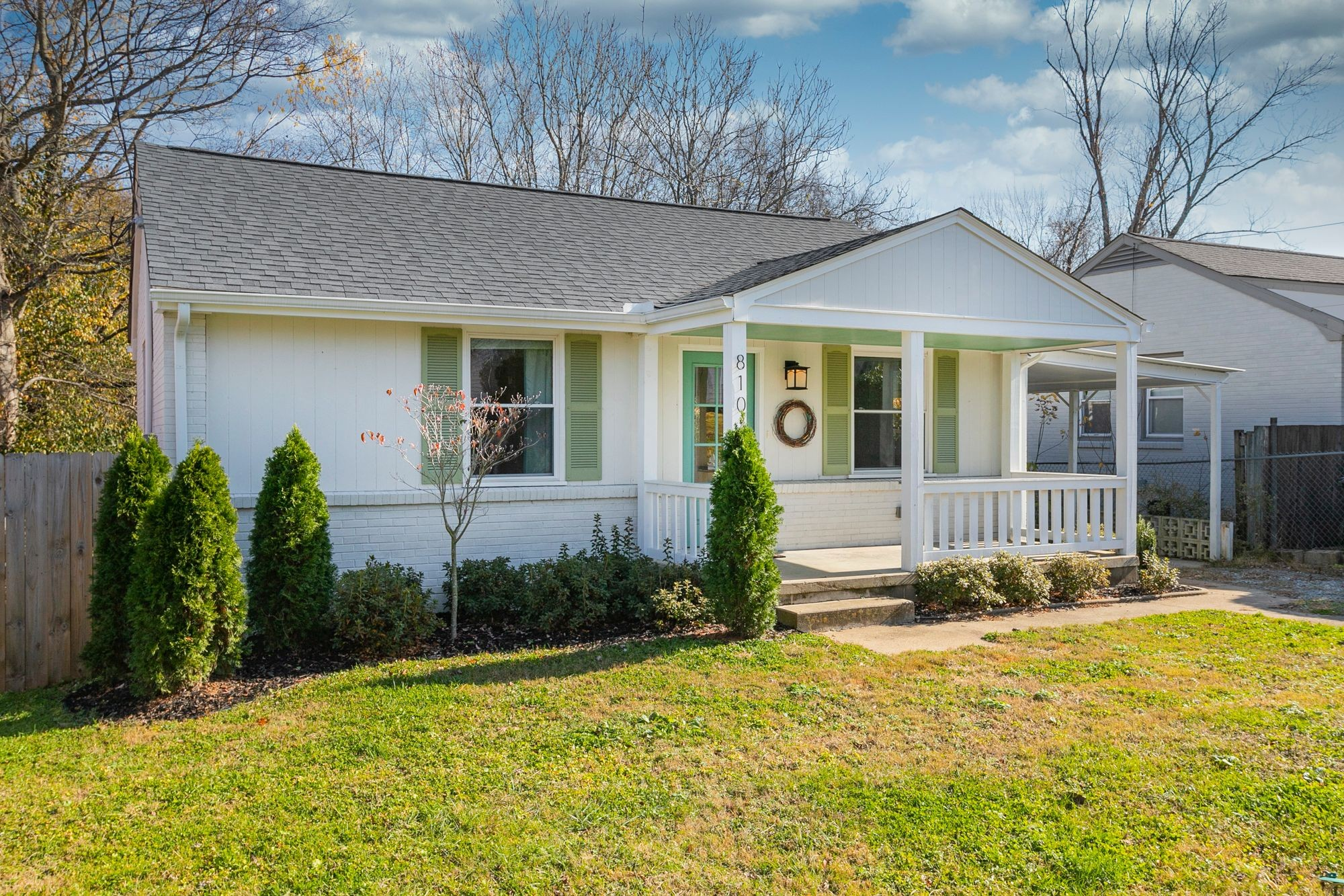 Beautiful renovation in East Nashville. Total Renovation in 2019 inside and out. Open area with kitchen and all new cabinets, granite bar, all new appliances. Privacy fenced in backyard to entertain in or for your furry friends to run. Too many renovations to list here. This beautiful home is one of the desired areas of East Nash. Walking distance to restaurants and retail shops. Additional pics will be available by Wednesday.