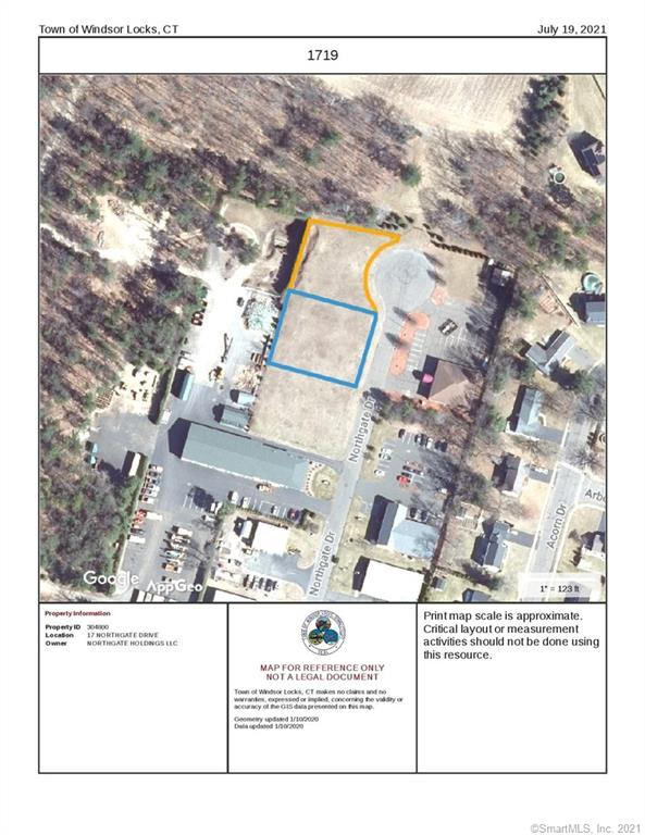 Unique opportunity to buy two lots combined at the end of Northgate drive.  #17 and #19 Northgate Dr. are being offered as a package deal.  (#15 is also separately available MLS#170421314).  Combined lots equal .82 acres and has 272ft of frontage along the end of the Cul-de-Sac.  All public utilities are available including water, gas, power, and sewer.  Endless possibilities within the I-2 Zone at this location.   Parcel Id's #17 - 00304800                 #19 - 00305000
