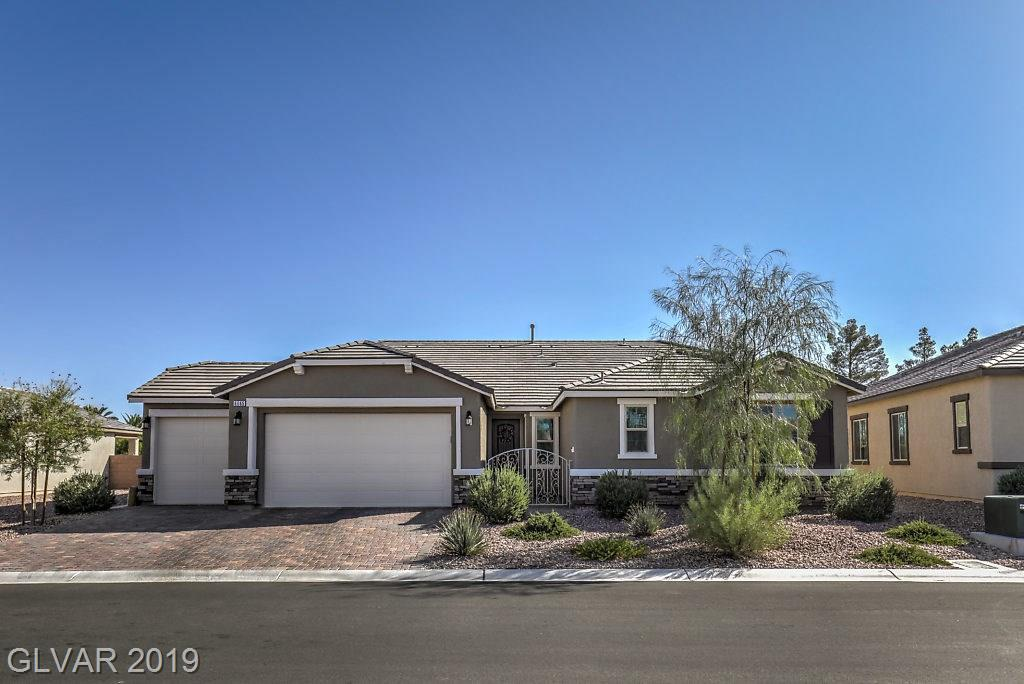 This stunning single story home is waiting for you. Kitchen features large island with granite counter tops and dual pantry. 3 bedrooms with walk in closets in each room. Den can be used for office, movie room or additional bedroom. Large 3 car garage. Backyard features lush landscaping and a putting green! Welcome home!