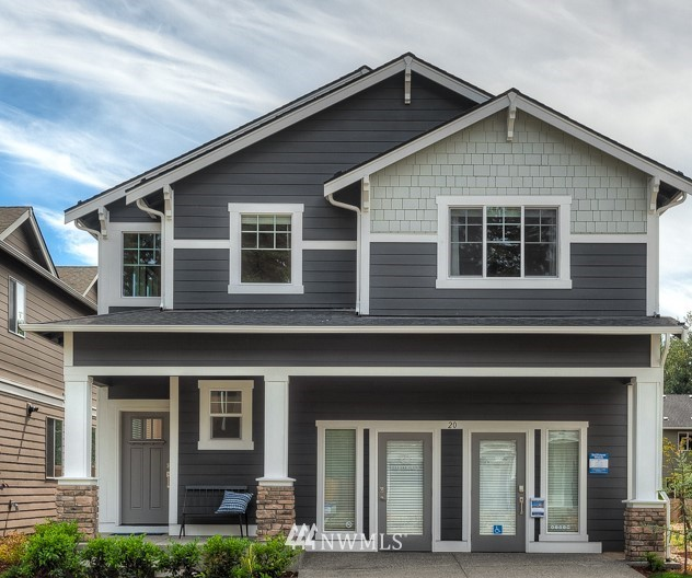 Magnolia at Tahoma Ridge by Lennar.  This popular Magnolia plan features beautiful cabinets and quartz countertops.  Open rail staircase, spacious homeowner suite with amazing bathroom and walk in closets!  The Craftsman style is timeless and a wonderful home to call your own.
