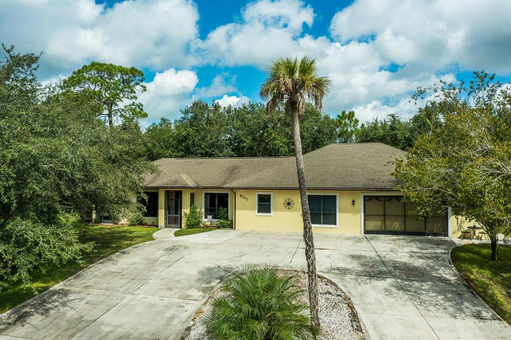 Ever wanted your own paradise, then this is the home for you! This 2010 built home sits on over 10 acres of land and has 2,500 sq. ft of living space with 4 large bedrooms, 2-bathrooms, an in-home office, 2 fully stocked ponds, a 20x20 Tiki Hut built by Miccosukee Tribe, 2 RV sites with electric and water hook up, a large picnic area, hot tub, over 650 feet of Horse Creek frontage, and it is zoned for horses! This house only has a $75.00/year HOA fee and that is only for the maintenance of the road to the house, so you have the freedoms of having livestock and the ability to control what you do on your own land!   As you enter the home you step into the living room with laminate wood floors leading you into the gourmet kitchen which features beautiful dark wood cabinets, granite countertops, and a gas stove.  You never have to worry about running out of gas because you have your very own large tank. This house is equipped with a whole house Generac generator in case of a powerful storm, you never have to worry about not having power in an outage because the generator will power the entire house at all once if needed.  This house has a new water filtration/softener system installed only 1 year ago, so no need to worry about bad quality of water. The house also includes a newly built mother-in-law suite 17x32 on one side and a work building on the other that sits adjacent to the house.  All that needs to be completed for the mother-in-law suite/work building is choosing the materials for the ceiling, walls, and flooring, so you can design to your specifications.  This home and the property leave nothing to be desired! It is truly a private oasis where friends and family can gather to relax and get away from the world.  This custom-built home is situated in a very friendly community just outside of Charlotte County in Desoto County however, you are only 15 min to I-75 or shopping. If you are looking for privacy and your very own paradise, this home is for you!