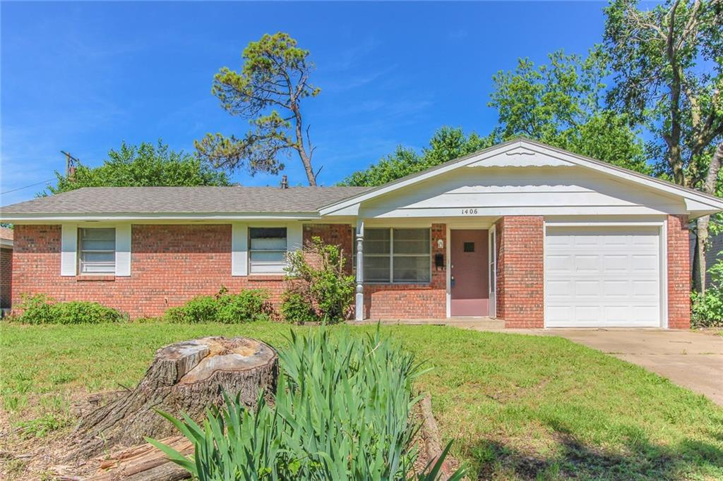 Nice layout. New carpet. New roof. Large fenced yard. Great location.