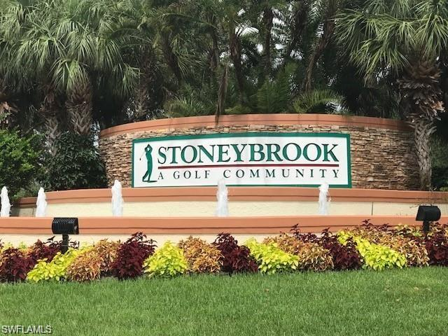 Beautiful condo in Stoneybrook. Fully furnished, 2 bedroom/2 bath plus den. Second floor, end unit. Lake view, balcony where you can see the sunset. If you are looking for a community with a golf course, THAT'S THE ONE !!! Stoneybrook offers 3 swimming pools, Jacuzzi, gym, tennis court, basket, play ground and much more. You can walk to the famous Miromar Outlets where you can find more than 10 restaurants and cafes. Rent per season or for 12 months. Available December 1, 2020