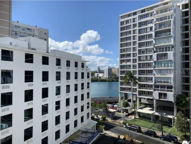 """CHATEAU LAGOON APT 702 05 CLEMENCEAU ST CONDADO-SAN JUAN -  Beautifully renovated and improved 2B/2B can convert into 3B/2B Apartment.  1,120 sq ft of construction with lagoon water view from the living room and ocean view from the bedrooms  - """"Boutique"""" condo across the lagoon, fully equipped, and furnished """"Turn-Key"""" ready! Well-maintained condo with a nice lobby, green area, pool, and sitting lounge.  The building includes a partial generator and cistern. NO Short Term Rentals allowed - Minimum 6 Month lease allowed. Walkable location to the lagoon, beach, and hotels, etc.! Please call for a VIP Showing!   Located across the Condado Lagoon and very walkable to the area beaches, parks, restaurants, shops, etc.  MONTHLY HOA:  $277.00  Water utility included monthly HOA."""