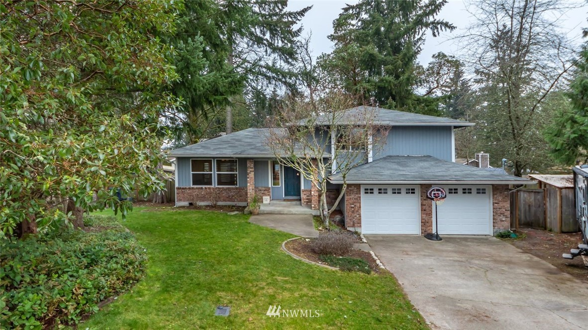 Must see this Beautiful, Turn Key Home in Steilacoom. Home Offers 1,781 Sq FT on .20 Ac with 3 Bedrooms, 2.5 Bathrooms, Updated Kitchen w/Corian Countertops, SS Appliances & Newer Lighting. Newer Roof, (16) Updated Windows & Daikin Heat Pump/AC and New Cadet Heaters throughout. Large Family Room with Pellet Stove.  New Carpet Upstairs and Freshly Painted Exterior ~Updated Walk-in Tile Shower. RV/Boat parking. Easy access to JBLM. All Appliances to stay to include W&D....Private Fenced In Backyard Prefect for Evening BBQ's and Entertaining.  1 Yr Home Warranty included to the new Buyers.