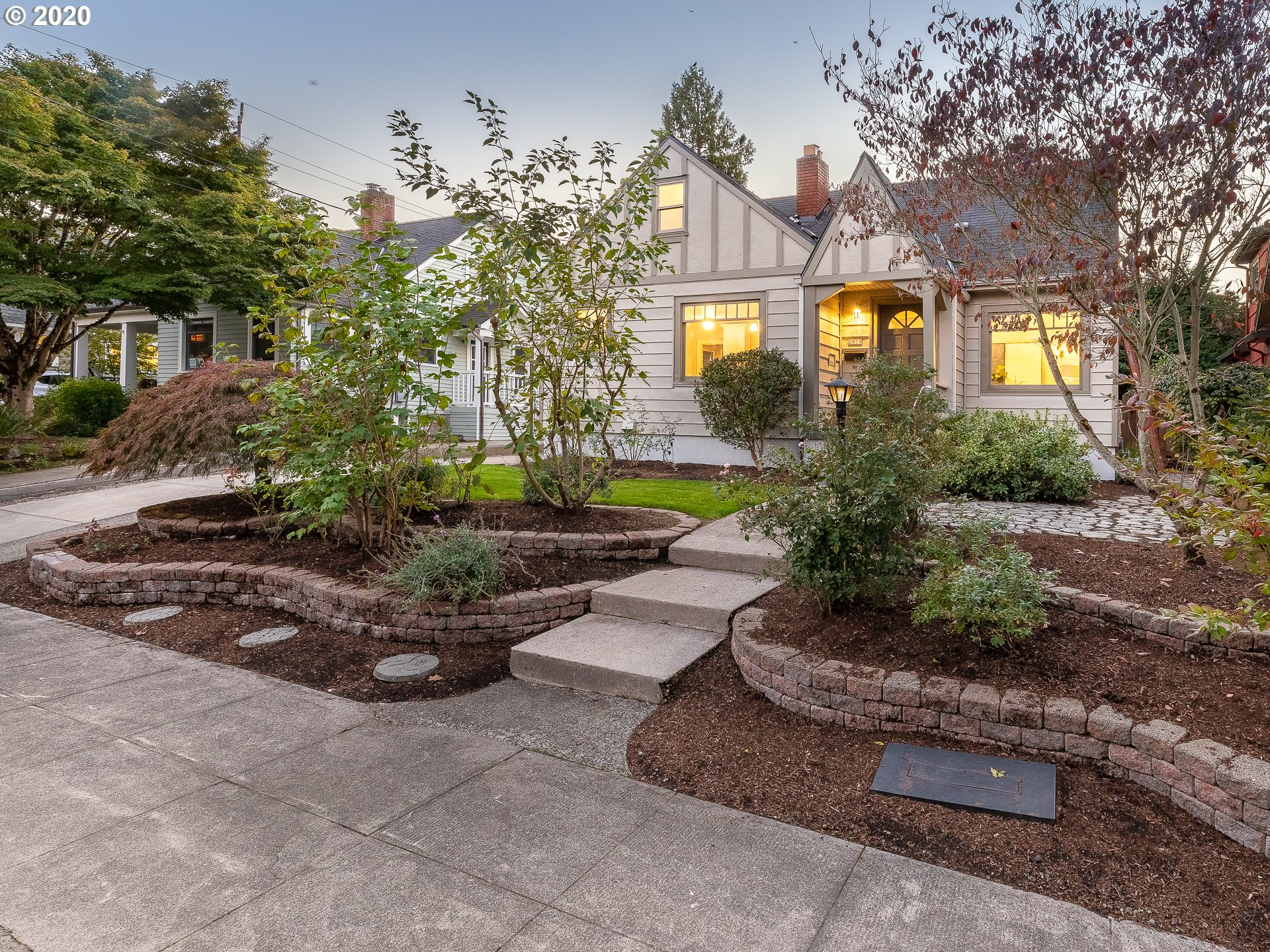 Completely remodeled historic home in the heart of Alameda combines modern upgrades & vintage charm. Brand new kitchen with quartz counters & stainless appliances. Original built-ins & refinished hardwood floors on the main level. Private master suite upstairs & all new bathrooms. Great curb appeal with new landscaping & private backyard. Detached garage plus 800 sq. ft. basement offer plenty of storage space. This home has it all -  historic character, brand new updates, & perfect location! [Home Energy Score = 3. HES Report at https://rpt.greenbuildingregistry.com/hes/OR10183446]