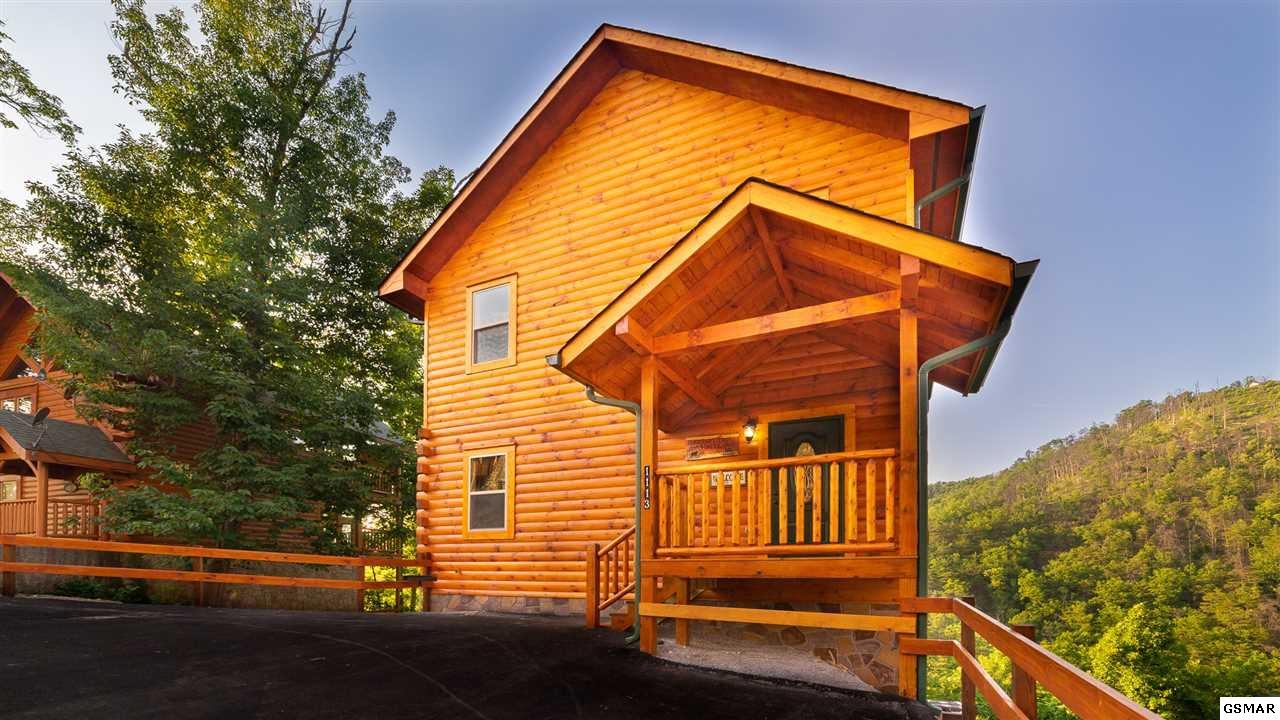 iINVESTORS! READY TO START CONSTRUCTION! 2BR/2.5BA LUXURY CABIN WITH HEATED INDOOR POOL IN THE PIGEON FORGE, TN AREA! This cabin will be sold fully furnished and ready for the rental program with projected gross income of $115,000+. This cabin is sure to impress with an open floorplan, luxury vinyl plank flooring and tile, Master Suite on main level, second level with huge gameroom w/ pool table and arcade games, and an oversized heated indoor pool with waterfall. Interior features include a fully equipped kitchen, granite countertops, and stainless steel appliances. Spacious living room for relaxing with an electric fireplace.  Multiple levels of decking with hot tub. Only minutes to Dollywood, attractions and shows, and the Smoky Mountains National Park. Photos are of a similar cabin with the same floorplan, but interior/exterior finishes and furnishings may differ. View photo is not actual lot. Must see!