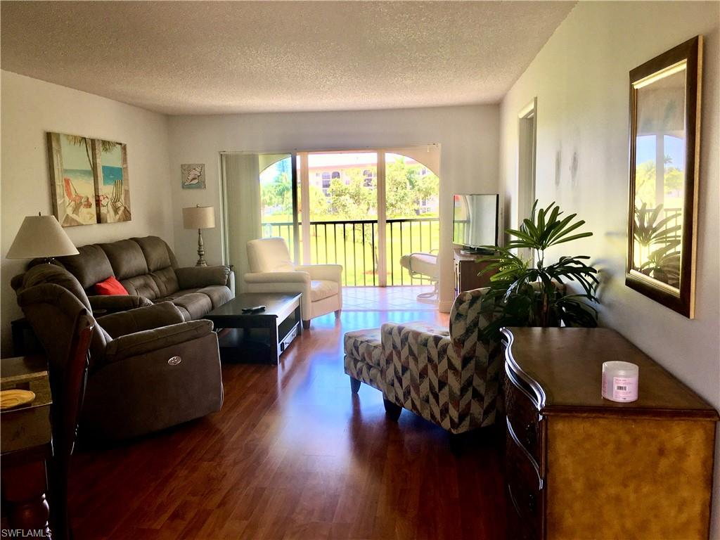 This lovely third floor unit is move in ready and a SIGNED SEASONAL LEASE IN PLACE FOR THE 2021 SEASON, JANUARY 15 THRU APRIL 17, 2021.  LEASE WILL BE TRANSFERRED TO NEW OWNER AT CLOSING.  New stainless refrigerator, freshly painted with new carpet in master bedroom, and a new queen mattress.