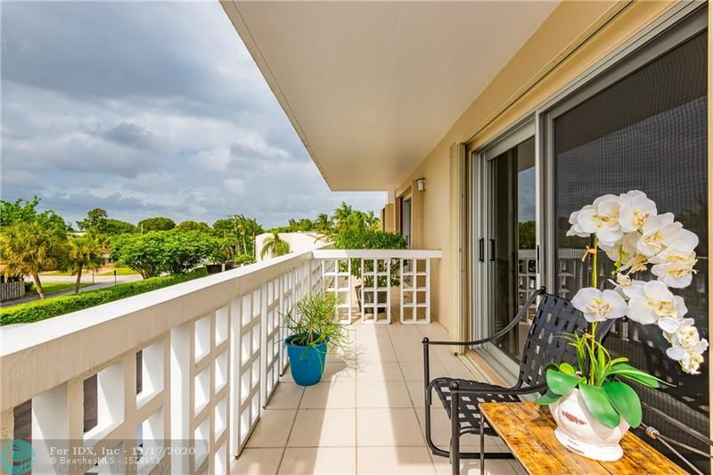 LOCATION-LOCATION-LOCATION!  This sweet 1BR/1BA Condo in Coral Lake Tower is just 2 miles to the beach. The Fresh Market, LA Fitness, Target all within minutes. This corner unit has Impact Windows + Accordion Shutters, a large balcony, walk in closet  + a storage room.  Nestled in a residential neighborhood in OAKLAND PARK yet minutes to the beach and dining spots.  Secured entry, designated parking spot and laundry room just a few feet from unit. Make this home yours! Whether you are a Snowbird or looking for stress free living, it doesn't get any better!  Pool and clubhouse on site. Monthly maintenance is $219, Lease after 1 year of ownership.