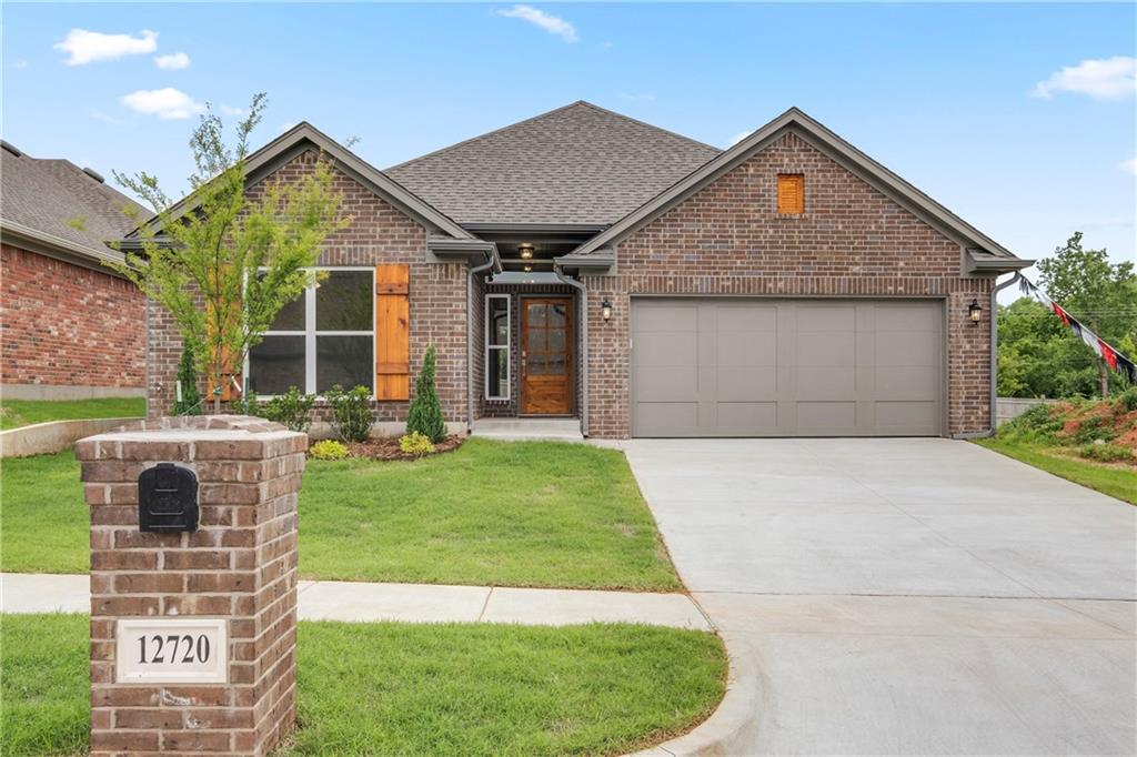 What a great floor plan!  Entertaining is easy with the large kitchen/dining/living area.  Plenty of places to sit around the island while the cook of the home is making dinner with the great appliance package.  The laundry room has great access with a beautiful barn door.  The Master Retreat is secluded with a spa like bath and large closet.  2 secondary bedrooms and bath complete this beautiful home.  This home is located with great access to the community garden, community clubhouse, fitness center and pool.  O/A