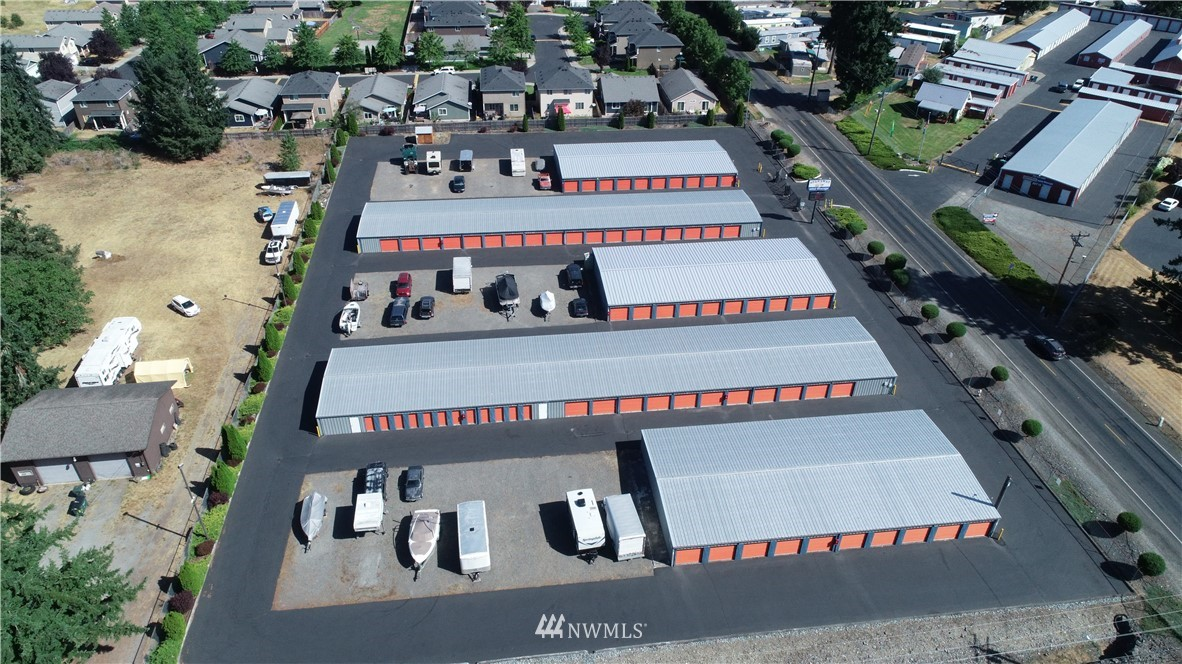 Excellent investment opportunity w/ great cash flow! Securely monitored 479 storage units, 90 outside storage, office & house included. Same owner past 40 years. Well maintained! Great onsite managers live in house & run office. Plenty of room to expand! 3 100x50 spaces avail for 3 additional buildings (up to 150 more units.) Owner has large shop 40x48 and 24x10 carport & 34x24 building that could be additional units (has been used for personal storage) - all for great added income! 2 gated entries w/ new touchpads- one each side of road. Close to Hwy 7. Most of the bigger units have new metal doors. Units on West side of road were built in 1992. Office being remodeled, new security cameras. Don't miss out!