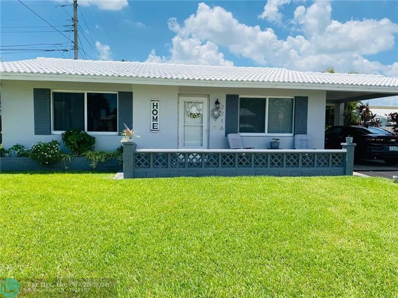 Come and see this cozy home in the heart of Tamarac! close to school, dining recreation, this updated home have tile home in living area, clean carpets in bedrooms, updated bathroom,counter top granite in kitchen, top appliances, lots of lights thru the windows , spacious closets,  hurricane impact windows, corner house with plenty of space in the backyard.