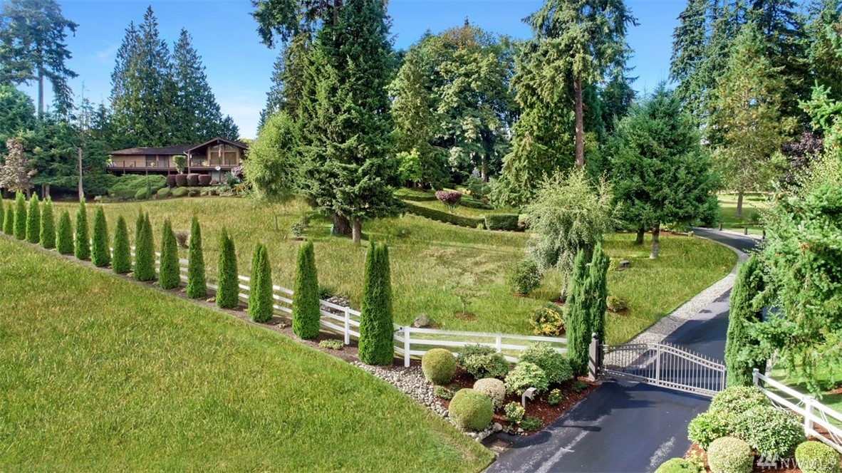 Proud to present this Grand Estate on a gated 6+ acres with views of Mt Rainier and the Cascades. Offered by original owners this brick home is over 6,000 sq ft and has been built and maintained to last several lifetimes. New full length deck to take advantage of the panoramic views. Room to expand, build a compound, add shop/barn/pasture and additional dwellings. With Zoning of R5 (5 per acre) future development makes for a great investment. Call today for more info or a private showing.