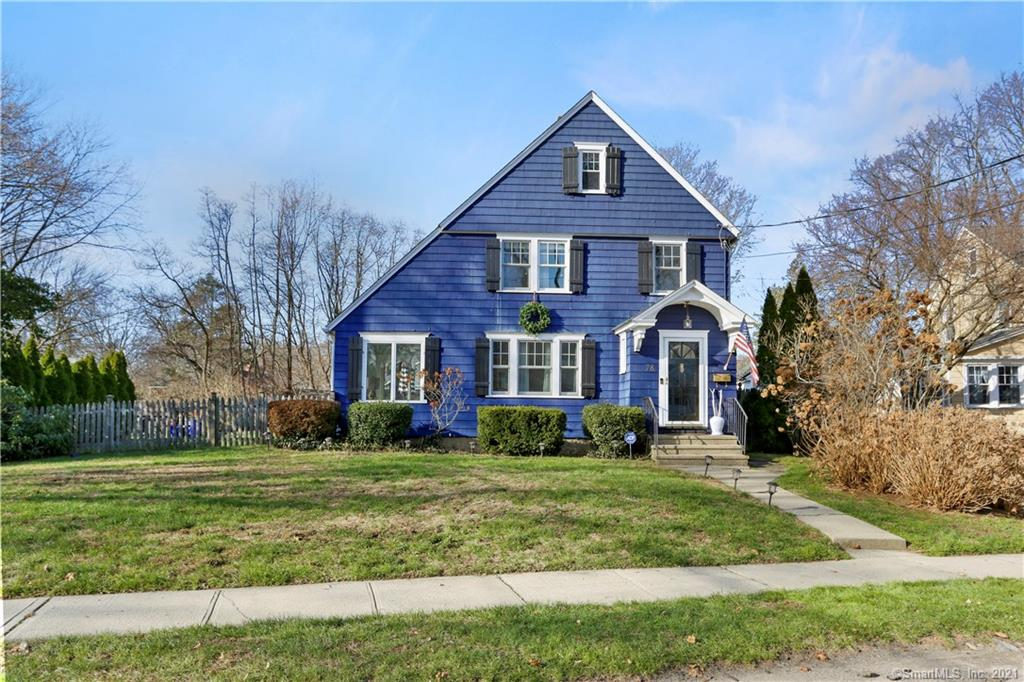 HIGHEST & BEST by 5pm Sunday, January 10, 2021. Welcome to 78 Rockland Rd, where you're sure to be enticed by all the charm & beauty of the 1930's - French doors, curved archways, built-ins, wide moldings, hardwood floors & open, breezy spaces combine to create a one-of-a-kind home in the desired Stratfield neighborhood. A foyer invites you inside where you are greeted by a spacious living room anchored by a brick fireplace. The sunroom is a great space for a home office, detailed with built-ins & sliding doors to the deck. The dining room is large but cozy & features a built-in china cabinet. A swinging butler's door, another nod to the 1930's, opens to the kitchen with a butler's pantry & access to the backyard. Archways & retro black & white tile floor complements the SS appliances, granite countertops & subway tile backsplash. 3 bedrooms & a full bathroom await you upstairs, as well as a huge unfinished walk-up attic. The fenced-in yard encompasses a large deck, patio, stone wall & a one car detached garage. This home offers ultimate privacy on an oversized lot with space for every outdoor activity – relaxing in a hammock, yard games, grilling & gardening! Stratfield is known for its tight-knit community, charming homes, friendly neighbors, tree-lined streets & neighborhood events. Walk to Lt Owen Fish Park & the Four Corners. You are also a quick drive to the train, beaches, shops & restaurants. Be prepared to fall in love with everything this home has to offer.