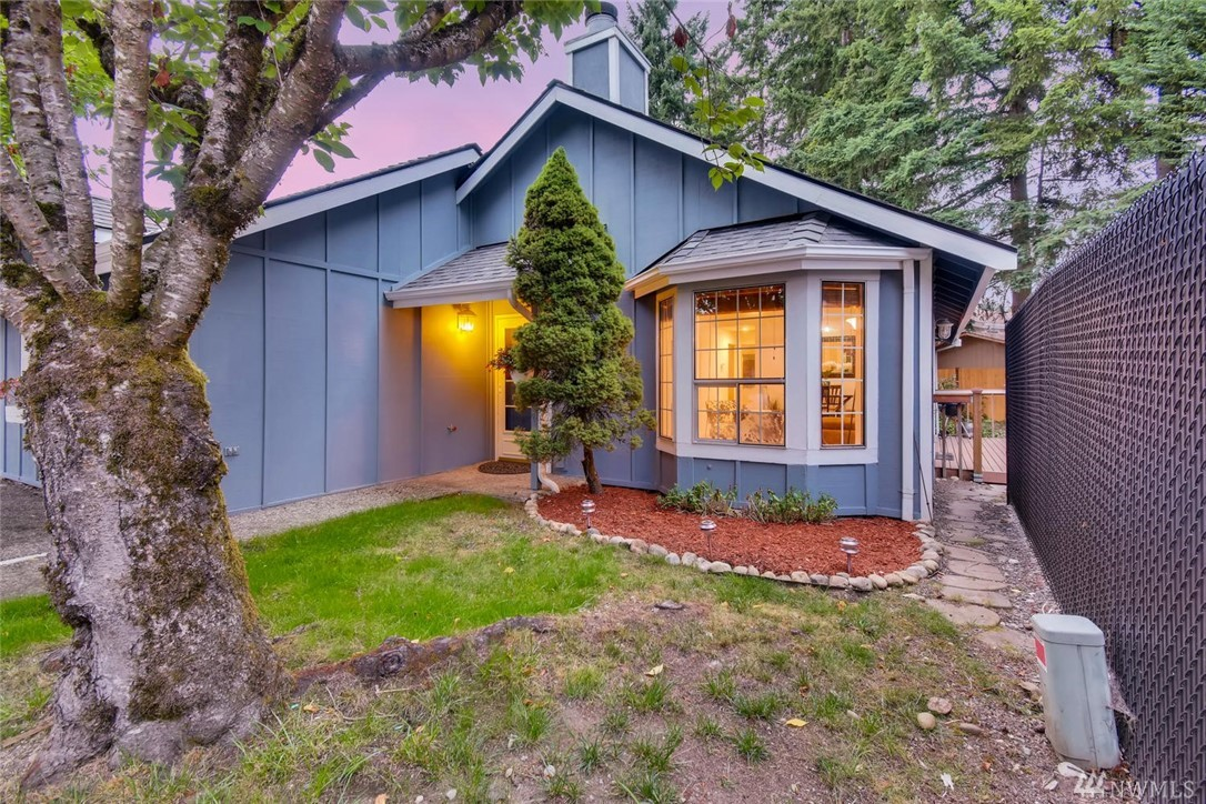 Welcome home to this FULLY RENOVATED 2bd/1bth Redmond rambler! Main features include a brand-new roof, new flooring, fresh interior & exterior paint, newer kitchen appliances & much more. Spacious private fenced in back yard w/ deck, 2-car garage attached. Vaulted ceilings provide an open & bright feel throughout. Just minutes from Redmond Town center, Marymoor Park & Microsoft. Certified pre-owned w/ a 1yr home warranty & pre-inspected!