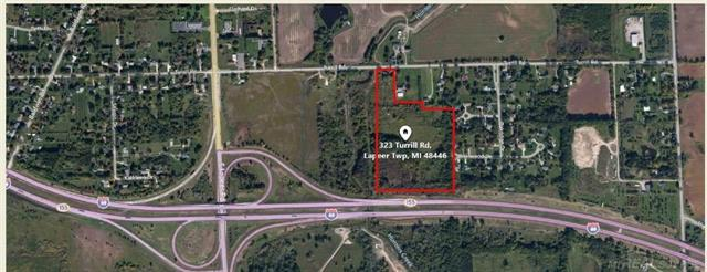 -Residential (Single dwelling's) development community in Lapeer Township -22 rolling acres with 300' frontage on Turrill road -Utilities available on north end of Turrill road -700 water and sewer taps available within Turrill right of way  -Lapeer Schools