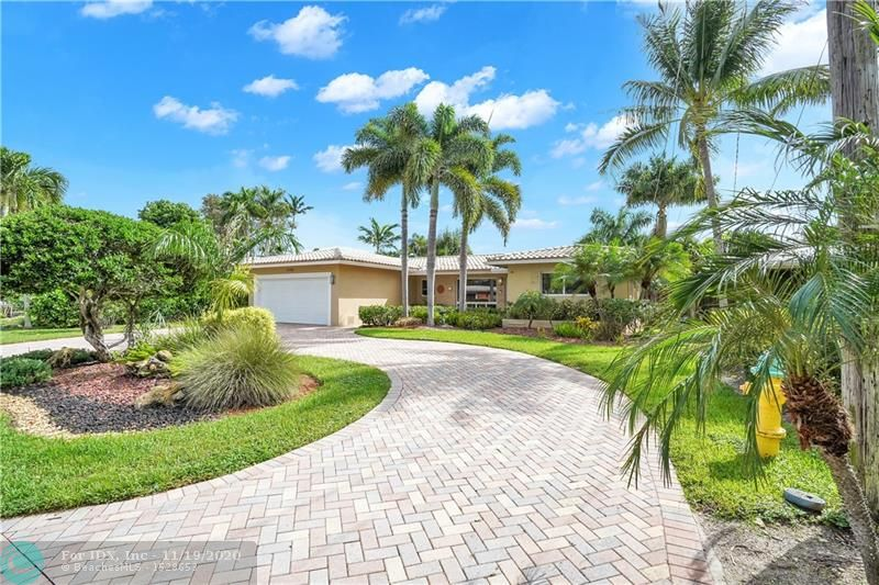 Lovingly maintained, three bedroom, two bath home in the quiet Wilton Manors neighborhood of Edgewater Estates. This home offers tile floors throughout, an open kitchen design with granite countertops and stainless steel appliances, and a split bedroom floor plan. Updates include high impact windows and doors, crown moulindg, two car garage and a fenced yard that is large enough to accommodate a pool. An inviting circular drive with pavers, embraces the front of the home and beautiful landscaping and an exceptional Wilton Manors location complete this amazing package!