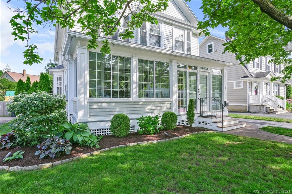 A true Stratfield gem!  This charming Colonial features 4 Bedrooms and 3 Full Baths PLUS bonus Recreation Room and Home Office on Third Floor.  Situated on a quiet, sought after street, this home features an enclosed 3-season front Porch (renovated in 2019) which provides a welcoming entrance to guests.  The First Floor offers a gracious Living Room with fireplace, an eat-in Kitchen with granite counters and stainless appliances, a large Dining Room and a spacious Family Room with tremendous windows and natural light.  A Mudroom with built-ins and a Full Bath completes the first floor.  Second Floor features 4 Bedrooms all on one floor including a Master Suite with spacious Bath including double sinks, shower and soaking tub.  3 additional Bedrooms and another Full Bath complete the Second Floor.  The Third Floor offers many options including Playroom, Home Office or Guest/Au Pair suite.  Additional features include central air, natural gas heating, new roof and hardwood flooring throughout.  A full unfinished basement offers incredible storage space.  Perfect for entertaining, the rear flagstone patio was fully redone in 2015 with concrete foundation, landscaping and lighting and the private yard is fully enclosed.  Convenient to the train, highways, shopping, restaurants, downtown and beaches, move in this summer and begin enjoying this incredible location and home!