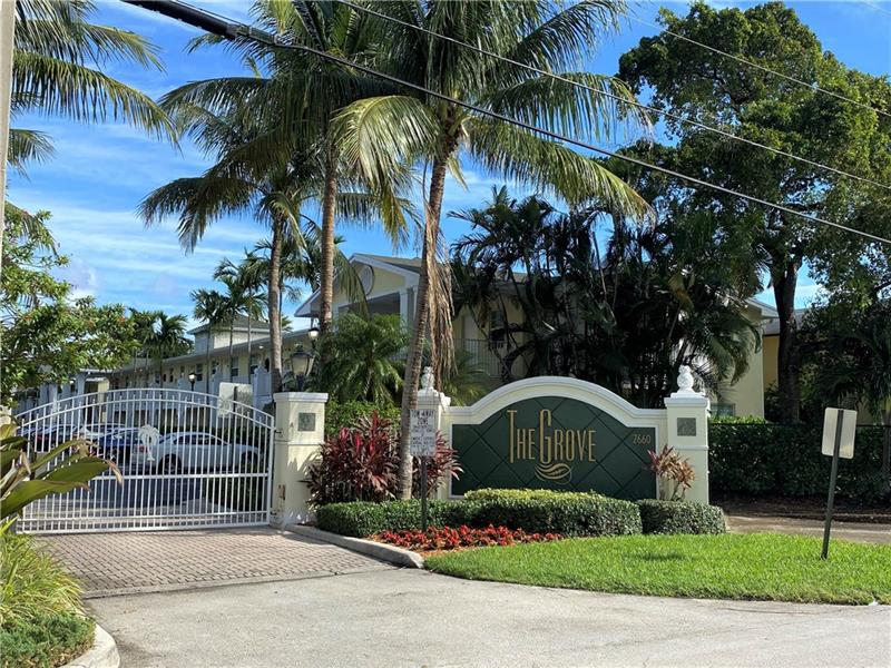Walk to all that Wilton Manors has to offer, 1 Block off the Drive.  2 bedroom & 1 bath, 2nd floor unit. Can Rent immediately. High Impact windows & door. Updated kitchen cabinets, granite countertops & new Stainless steel appliances.  Tankless water heater. This unit is offered Furnished. Well Maintained Gated Community. Heated pool and clubhouse. Assigned parking and guest parking. Up to 2 pets allowed per unit.
